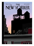 Finger Painting: New Day - The New Yorker Cover, September 21, 2009 Regular Giclee Print by Jorge Colombo