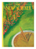The New Yorker Cover - July 29, 1967 Regular Giclee Print by Beatrice Szanton