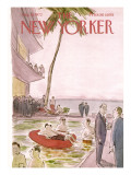 The New Yorker Cover - August 19, 1972 Premium Giclee Print by James Stevenson