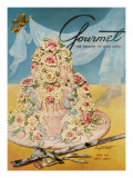Gourmet Cover - June 1954 Regular Giclee Print by Henry Stahlhut