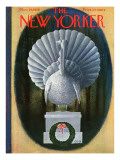The New Yorker Cover - November 29, 1958 Premium Giclee Print by Charles E. Martin