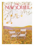 The New Yorker Cover - October 17, 1964 Premium Giclee Print by Ilonka Karasz