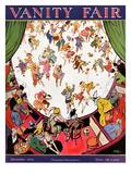 Vanity Fair Cover - November 1923 Regular Giclee Print by Tony Sarg