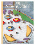 The New Yorker Cover - February 4, 1991 Premium Giclee Print by John O'brien