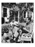 House & Garden - November 1942 Regular Photographic Print by  Lofman