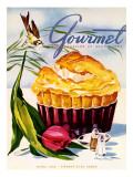 Gourmet Cover - April 1945 Regular Giclee Print by Henry Stahlhut