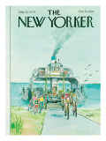 The New Yorker Cover - July 23, 1979 Premium Giclee Print by Charles Saxon