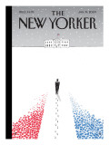 The New Yorker Cover - January 19, 2009 Regular Giclee Print by Guy Billout