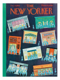 The New Yorker Cover - December 15, 1962 Premium Giclee Print by Charles E. Martin