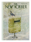 The New Yorker Cover - January 8, 1966 Premium Giclee Print by Laura Jean Allen