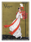 Vogue Cover - August 1911 Premium Giclee Print by George Wolfe Plank