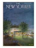 The New Yorker Cover - August 13, 1955 Premium Giclee Print by Edna Eicke