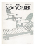 The New Yorker Cover - March 24, 1986 Regular Giclee Print by Gretchen Dow Simpson