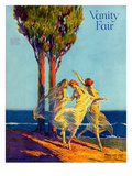Vanity Fair Cover - February 1918 Regular Giclee Print by Warren Davis