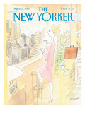 The New Yorker Cover - April 10, 1989 Regular Giclee Print by Jean-Jacques Sempé