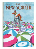 The New Yorker Cover - September 2, 1972 Regular Giclee Print by Charles Saxon