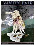 Vanity Fair Cover - September 1927 Regular Giclee Print by Pierre Brissaud