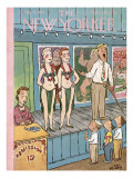 The New Yorker Cover - July 21, 1956 Regular Giclee Print by William Steig