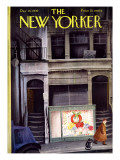 The New Yorker Cover - December 16, 1939 Premium Giclee Print by Roger Duvoisin