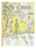 The New Yorker Cover - June 10, 1985 Regular Giclee Print by William Steig