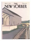 The New Yorker Cover - September 17, 1984 Premium Giclee Print by Gretchen Dow Simpson