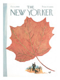 The New Yorker Cover - October 8, 1966 Regular Giclee Print by Abe Birnbaum