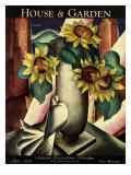 House & Garden Cover - April 1929 Regular Giclee Print by Bradley Walker Tomlin