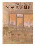 The New Yorker Cover - April 28, 1975 Regular Giclee Print by James Stevenson