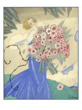 Vogue - June 1923 Regular Giclee Print by Georges Lepape