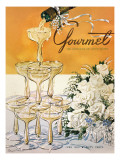 Gourmet Cover - June 1952 Regular Giclee Print by Henry Stahlhut