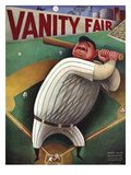 Vanity Fair Cover - September 1933 Premium Giclee Print by Miguel Covarrubias