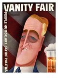 Vanity Fair Cover - September 1932 Regular Giclee Print by Miguel Covarrubias