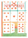 The New Yorker Cover - February 13, 1971 Premium Giclee Print by Andre Francois