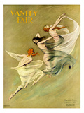 Vanity Fair Cover - August 1924 Regular Giclee Print by Warren Davis