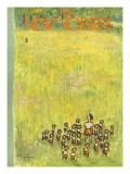 The New Yorker Cover - July 11, 1953 Regular Giclee Print by Abe Birnbaum