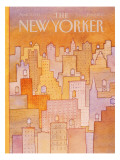 The New Yorker Cover - April 27, 1981 Regular Giclee Print by Lonni Sue Johnson