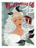 Mademoiselle Cover - May 1937 Regular Giclee Print by Elizabeth Dauber