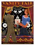 Vanity Fair Cover - October 1930 Regular Giclee Print by Georges Lepape