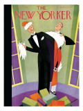 The New Yorker Cover - December 24, 1927 Premium Giclee Print by Andre De Schaub
