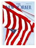 The New Yorker Cover - July 2, 1990 Premium Giclee Print by Gretchen Dow Simpson