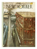 The New Yorker Cover - November 17, 1956 Premium Giclee Print by Arthur Getz