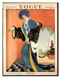 Vogue Cover - August 1919 Premium Giclee Print by George Wolfe Plank
