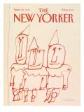The New Yorker Cover - September 22, 1986 Regular Giclee Print by Robert Tallon