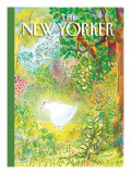 The New Yorker Cover - April 17, 2006 Regular Giclee Print by Jean-Jacques Sempé