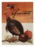 Gourmet Cover - November 1941 Regular Giclee Print by Henry Stahlhut