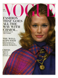 Vogue Cover - August 1968 Regular Giclee Print by Gianni Penati