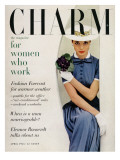 Charm Cover - April 1955 Premium Giclee Print by Carmen Schiavone
