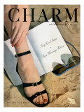Charm Cover - July 1947 Premium Giclee Print by Hal Reiff