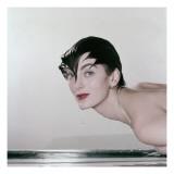 Vogue - May 1955 Regular Photographic Print by John Rawlings
