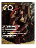GQ Cover - September 1970 Premium Giclee Print by Peter Levy